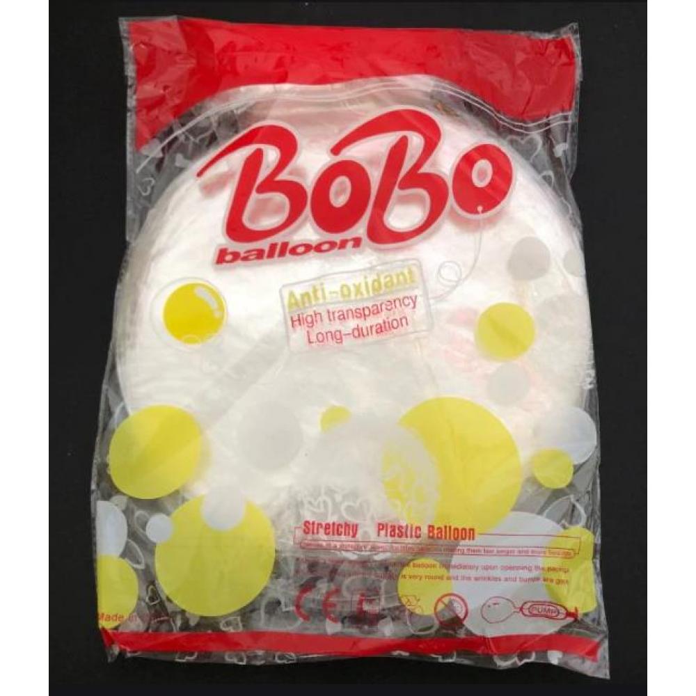 """Bubles Şeffaf Balon 24"""" 1 Adet"""