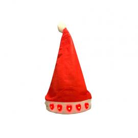 Yılbaşı Işıklı Noel Baba Şapka