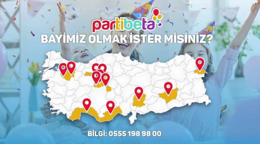 Partibeta Tüm Türkiye'de Bayilikler Veriyor...